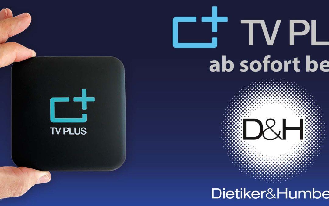 TV PLUS ab sofort bei uns erhältlich!